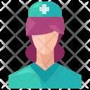 Nurse Medical Icon