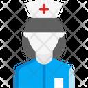 Nurse Physician Women Icon