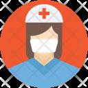 Nurse Assistant Female Icon