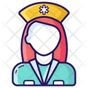 Nurse Medical Staff Attendant Icon