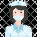 Nurse Hospital Care Icon