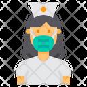 Nurse Avatar Hospital Icon