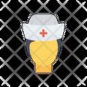 Nurse Medical Face Icon