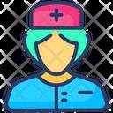 Nurse Woman Physician Icon