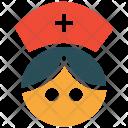 Nurse Medical Assistance Icon