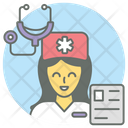 Nurse Attendant Medical Attendant Icon
