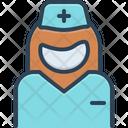 Nurse Assistant Attendant Icon