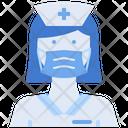 Nurse Female Woman Icon