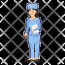 Nurse Medical Staff Hospital Nurse Icon