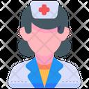 Nurse Nurses Woman Icon
