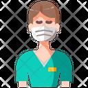 Avatar Nurse User Icon