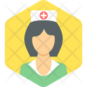 Nurse Medical Doctor Icon