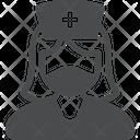 Medical Nurse Avatar Profile Icon