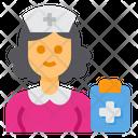 Nurse Occupation Woman Icon
