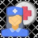 Nurse Doctor Girl Icon