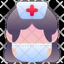 Nurse Avatar People Icon