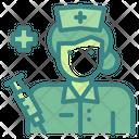 Nurse Woman Medical Icon