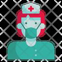 Nurse Doctor Woman Icon