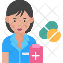 Nurse Pharmacist Doctor Icon