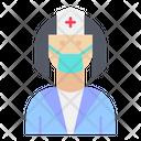 Nurse Medical Hospital Icon
