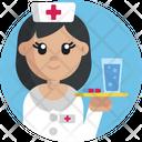 Nurse Female Profession Icon