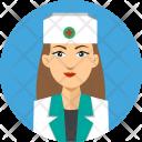 Nurse People Work Icon