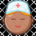 Nurse African American Icon