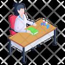 Nurse Desk Icon