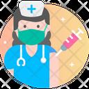 Nurse Female Avatar Nurse Icon