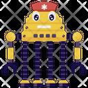 Nurse Robot Medical Robot Lab Technician Icon