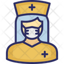 Nurse Medical Assistant Female Nurse Icon