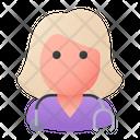 Nurse Woman Professional Icon