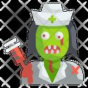 Nurse Zombie Icon