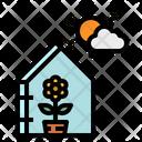 Garden Flower Glass Icon