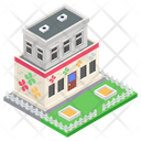 Nursery Commercial Building Architecture Icon