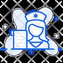 Nursing Lady Nurse Female Nurse Icon