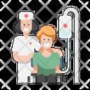 Nursing Care Handicapped Icon