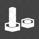 Nut Bolt Screw Icon