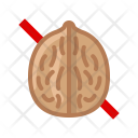 Nut Walnut Allergy Icon