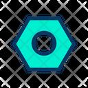 Bolt Hardware Tool Icon