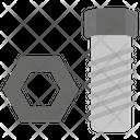 Bolt Nut Workshop Hardware Icon