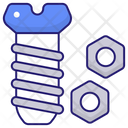 Nut Screw Bolt Icon
