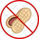 Nut Peanut Allergy Icon