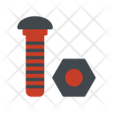 Bolt Construction Nut Icon