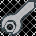 Nut Screw Tool Icon