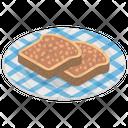 Nutella Bread Icon