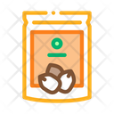 Nut Package Food Icon
