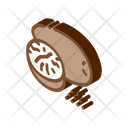 Nutmeg Nut Icon