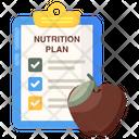 Nutrition Plan Icon