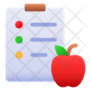 Nutrition Table Healthy Diet Diet Plan Icon